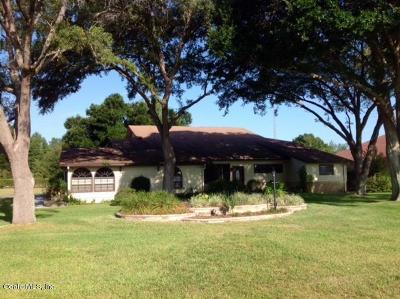 Ocala Single Family Home For Sale: 8750 SE 70th Terrace