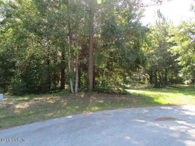 Dunnellon Residential Lots & Land For Sale: SW 193 Court