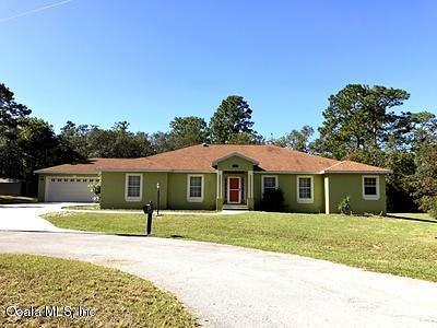 Ocala Single Family Home For Sale: 6240 SW 150th Place