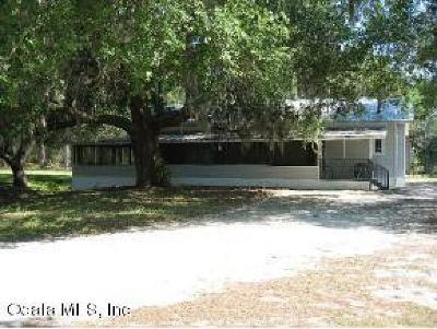 Fort McCoy Single Family Home For Sale: 17030 NE 148 Terrace Road