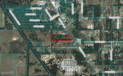 Belleview Residential Lots & Land For Sale: 12610 SE Us Highway 441