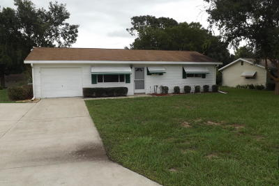 Marion County Single Family Home For Sale: 8515 SW 106th Street