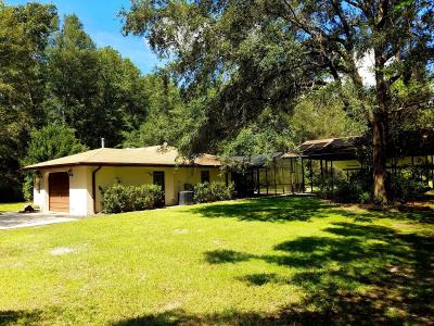 Dunnellon FL Single Family Home Sold: $125,000