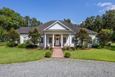 McIntosh Single Family Home For Sale: 6425 NW 202nd Place