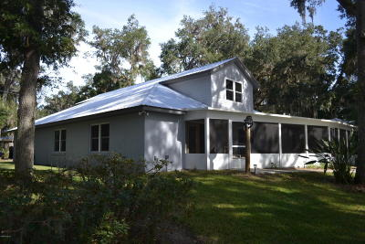 Salt Springs Single Family Home For Sale: 14360 NE 209 Terrace Road