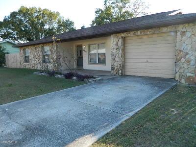Single Family Home Sold: 8840 SE 90th Avenue Road