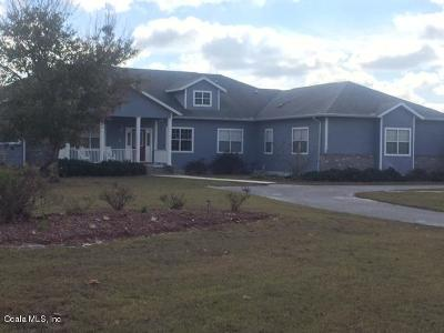 Morriston Single Family Home For Sale: 1351 SE 196th Court