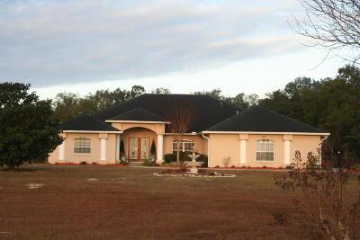 Morriston Single Family Home For Sale: 1450 SE 196th Court