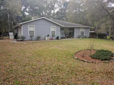 Micanopy Single Family Home For Sale: 699 NW 2nd Avenue