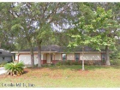Ocala Single Family Home For Sale: 4 Hickory Loop Terrace