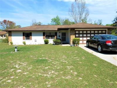 Belleview FL Single Family Home Sold: $109,900