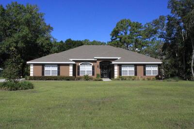 Homosassa Single Family Home For Sale: 9214 S Suncoast Boulevard