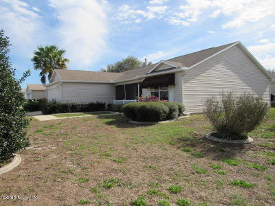 The Villages Single Family Home For Sale: 17602 SE 93rd Butler Court