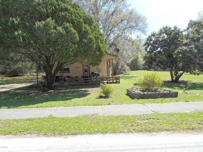 Dunnellon City Single Family Home For Sale: 11779 Bostick Street