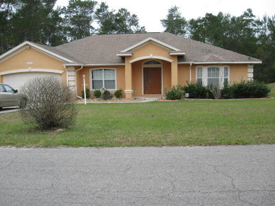 Ocala Single Family Home For Sale: 16026 SW 49th Court Road