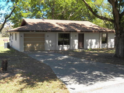 Dunnellon Single Family Home For Sale: 20175 SW 82nd Place