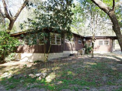 Fort McCoy Single Family Home For Sale: 14171 NE 199th Lane