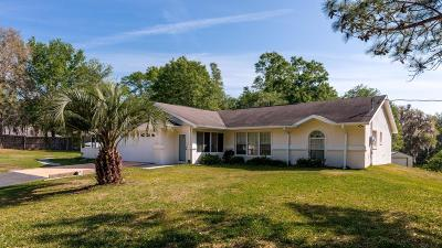 Reddick Single Family Home For Sale: 12903 NW 225