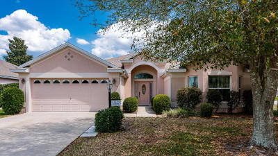 The Villages Single Family Home For Sale: 17723 SE 81st Timberwood Terrace