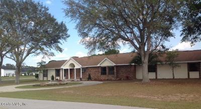 Marion County Single Family Home For Sale: 8667 SE 70th Terrace