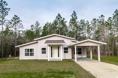 Williston Single Family Home For Sale: 190 NE 133rd Terrace