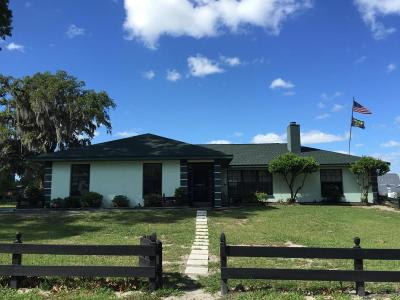 Citra Single Family Home For Sale: 18600 NE 5th Terrace Road