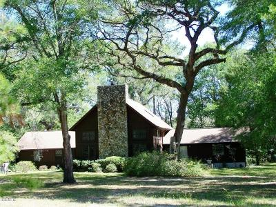 Ocala Single Family Home For Sale: 9 W Lake View Drive