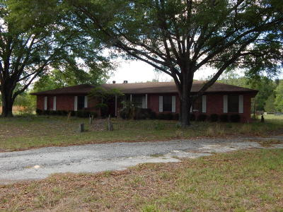 Chiefland Single Family Home For Sale: 11151 NW 115th St