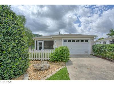 The Villages Single Family Home For Sale: 8193 SE 169th Palownia Loop