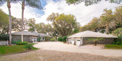 Weirsdale FL Single Family Home For Sale: $879,000