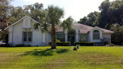 Dunnellon Single Family Home For Sale: 11972 N Bluff Cove Path