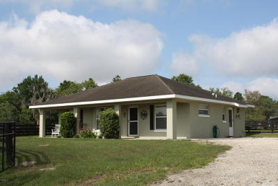 Levy County Rental For Rent: 6550 SE 143rd Court