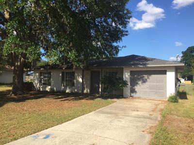 Ocala Single Family Home For Sale: 5431 NE 11th Avenue