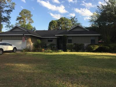 Ocala Single Family Home For Sale: 4456 NE 1 Street