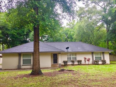 Ocala Single Family Home For Sale: 1840 NE 38th Street