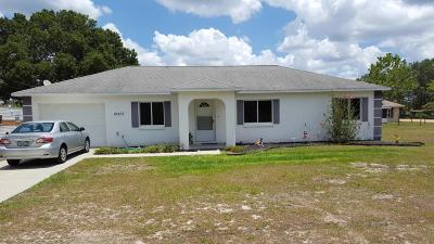 Belleview Single Family Home For Sale: 12475 SE 104th Terrace