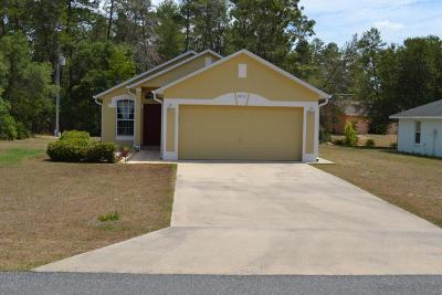 Single Family Home For Sale: 4515 SW 169th Place