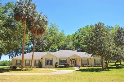 McIntosh Single Family Home For Sale: 20375 N Hwy 441