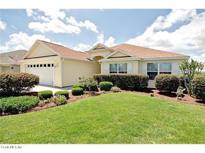 The Villages Single Family Home For Sale: 1209 Jebber Loop