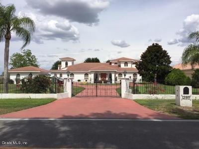 Single Family Home For Sale: 1280 W Lake Hamilton Dr