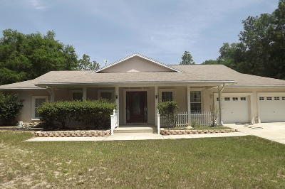 Ocala Single Family Home For Sale: 13215 SW 52nd Lane Road