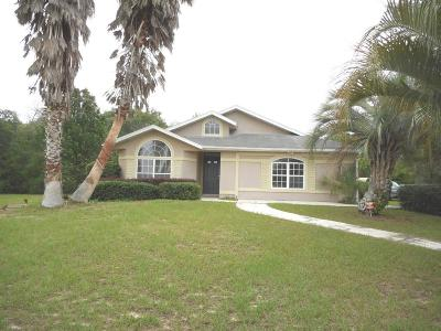 Ocala Single Family Home For Sale: 3028 SW 143rd Place Road