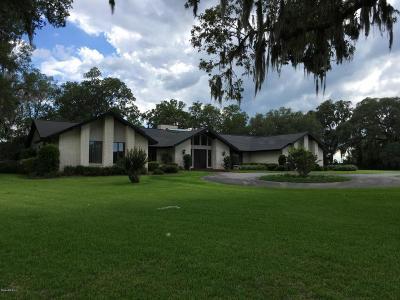 Ocala Single Family Home For Sale: 820 NE 120th Place