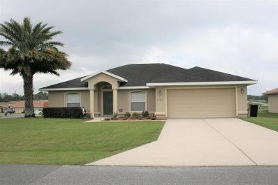 Belleview FL Single Family Home Sold: $162,500