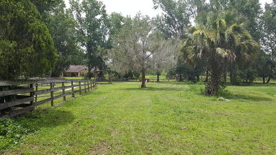 Micanopy Farm For Sale: 6801 NW Hwy 320