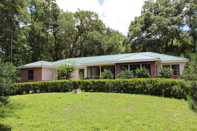 Belleview Single Family Home For Sale: 7238 E Highway 25