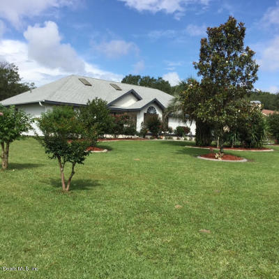 Marion County Single Family Home For Sale: 4868 NE 60th Terrace