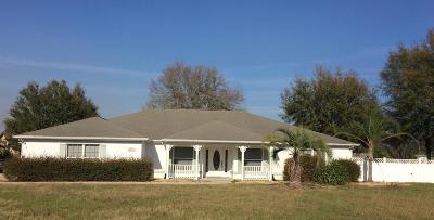 Ocala Single Family Home For Sale: 8783 SE 60th Avenue