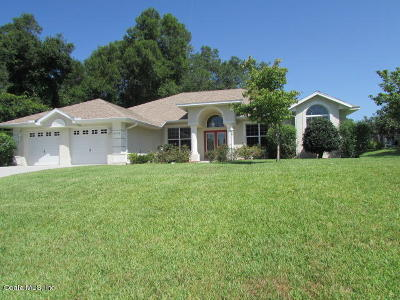 Dunnellon Single Family Home For Sale: 8248 SW 196th Court Road