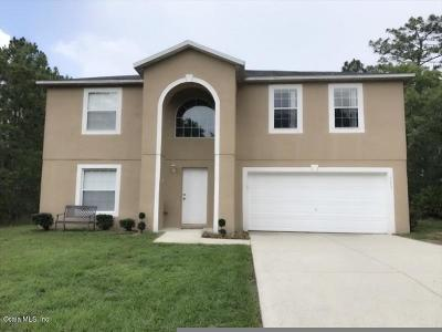 Citrus Springs Single Family Home For Sale: 5693 N Summerfield Point